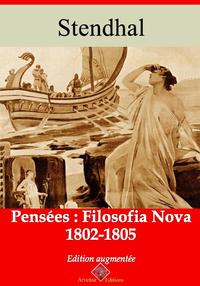Pensées:filosofianova (1802-1805) – suivi d'annexes, Nouvelle édition 2019