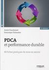 Livre numérique PDCA  et performance durable