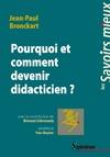 Livre numérique Pourquoi et comment devenir didacticien ?
