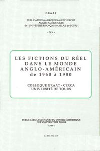 Livre numérique Les fictions du réel dans le monde anglo-américain de 1960 à 1980