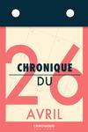 Livre numérique Chronique du 26  avril