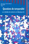 Livre numérique Questions de temporalité