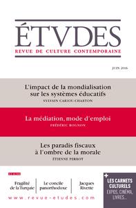 Revue Études - Juin 2016
