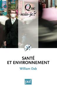 Santé et environnement, « Que sais-je ? » n° 3771