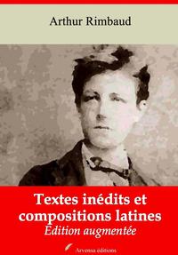 Textes inédits et compositions latines – suivi d'annexes