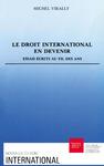 Livre numérique Le droit international en devenir