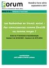 Livre numérique Forum HS : Les Recherches en travail social : des connaissances comme finalité ou comme moyen ?