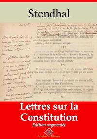 Lettres sur la Constitution – suivi d'annexes, Nouvelle édition 2019