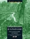 Livre numérique La spatialisation de la biodiversité