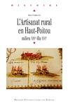 Livre numérique L'artisanat rural en Haut-Poitou
