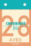 Livre numérique Chronique du 28  avril