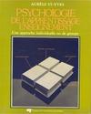 Livre numérique Psychologie de l'apprentissage-enseignement
