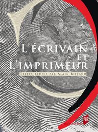 Ebook l 39 crivain et l 39 imprimeur openedition for Statut ecrivain
