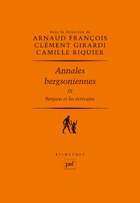 Annales bergsoniennes, IX