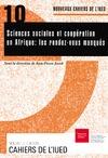 Livre numérique Sciences sociales et coopération en Afrique