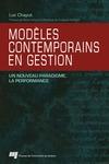 Livre numérique Modèles contemporains en gestion