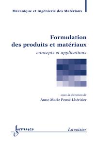 Livre numérique Formulation des produits et matériaux (trité MIM)