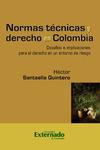 Livre numérique Normas técnicas y derecho en Colombia