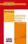 Livre numérique Henry Mintzberg - Un grand généraliste des organisations et de la stratégie