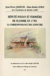 Livre numérique Député-paysan et fermière de Flandre en 1789. La correspondance des Lepoutre