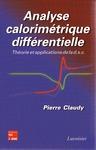 Livre numérique Analyse calorimétrique différentielle : théorie et applications de la d.s.c