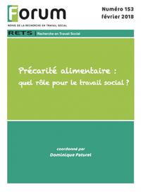 Livre numérique Forum 153 : Précarité alimentaire : quel rôle pour le travail social ?