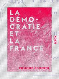 La Démocratie et la France - Études