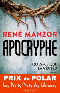 Apocryphe - Prix du Polar Les Petits Mots des Libraires